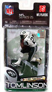 Mcfarlane Nfl Series 25_ladainian Tomlinson White Ny Jets_bronze Level Collector