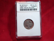 1926-s 5c Buffalo Nickel Horn Tolled Whizzed