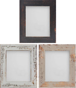 Frame Company Shoreditch Range Unique Rustic Distressed Wooden Photo Frame