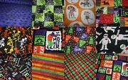 Choose One Halloween Harvest Fabric Print Fat Quarters 18 X 22 Some Mand039liss