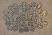 Roll Of 1983-d Uncirculated Jefferson Nickels - 40 Coins