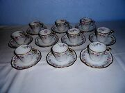 France Depose China Demitasse Cups And Saucers 10 Sets Bailey Banks And Biddle