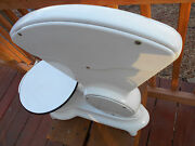 Antique White Porcelain Fisher Scientific Co. / Eimer And Amend Uofm Baby Scale