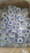Lot Of 200 3 And 5 Gallon Water Bottle Snap On Cap Anti Splash 55mm Peel Off Tops