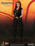 Hot Toys 1/6 Terminator 2 T-1000 Sarah Connor Disguise Mms125 Action Figure