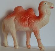 Occupied Japan Vint Celluloid Bactrain Camel Toy Blow Molded