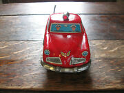 Vintage 1950's Tin Litho Studebaker Fire Chief's Car Works