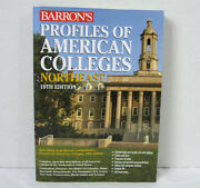 Barron's Profiles Of American Colleges Northeast 19th Edition 2010 Softcover