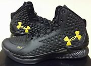 Under Armour Ua Sc1 Stephen Curry 1 One Mens 9 Banner Black Gold Mvp 1258723-008