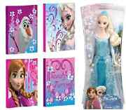 Disney Frozen 12x12 4-pack Canvas Wall Art And Elsa Of Arendelle 11 Sparkle Doll