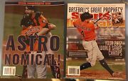 Houston Astros World Series Sports Illustrated Commemorative Issues 2 Magazines