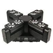 Newest 8x12w 4 In 1 Rgbw Cree Led Moving Head Beam Disco Light Led Spider Wash