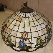 Stained Glass Hanging Lamp