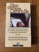 How The Bible Came To Be Vhs