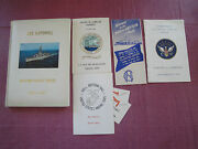 Uss Hopewell Western Pacific Cruise Book 1960-1961 + Extras