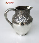 Beer Pitcher Repousse