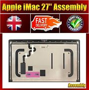 27and039and039 Lm270qq1 Sda2 Apple Imac 5k A1419 661-0325 Glass And Led Ips Screen Panel