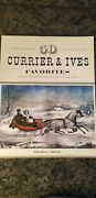 Museum Of The City Of New York Currier And Ives Favorites Poster Size Book