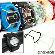 2 Pc Wire Guard Protectors For G-shock 35th Anniversary Special Edition