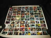 The Avengers Diana Rigg Bbc Tv Series Trading Cards Uncut Sheet Cornerstone 3
