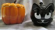 Partylite Pumpkin Patch And Sly Black Catcandleor Candynibhalloween Readynew