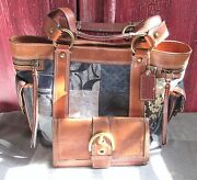Coach 10002 Denim Patchwork Totelimited Editionblueand Free Wallettobacco