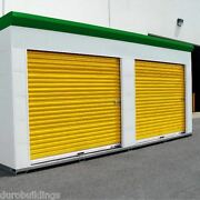 Durosteel Janus 14and039w X 12and039t Insulated 3100i Series Wind Rated Rollup Door Direct