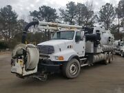 2009 Sterling Vactor 2100 Dual Rear Axle Sewer Cleaning Vac Truck
