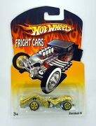 Hot Wheels Zombot Fright Cars Real Riders Die-cast Car Moc Complete 2007