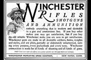 Poster Many Sizes Ad For Winchester Rifles Shotguns And Ammunition 1900