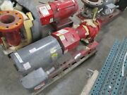 Bell And Gossett 1510 Pump 3ac 6.750 Bf 40hp 640gpm 150ft Head 3600rpm 175psi Used