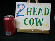 Freak Show,sideshow Sign,circus,wood,hand Painted,oddity,advertising,banner,odd