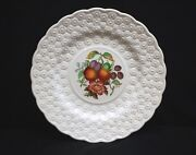 Old Vintage Alden By Spode Luncheon Plate 1 Ring Fruit Daisy Copeland England