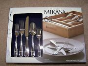 Mikasa 65pcs.set Service For 12- Five Piece Place Setting Sinclair New In Box