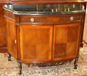Best Thick Black Marble French Commode Fitted Drawers Walnut Restored Mint 1920