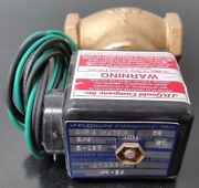 Nos 3/4andrdquo J.d Gould Company Brass Air And Water M4-3v Solenoid Valve 24v 5-125 Psi