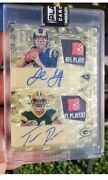 2016 Spectra Jared Goff Superfractor Auto Tag Patch Jersey Rookie 1/1 Inc 1/1