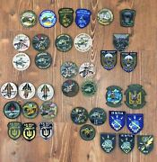 Ukraine Patch Military Army Air Force Helicopter Collection 38 Patches Original