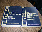 Mitchell 1986 Imported Cars And Trucks Service And Repair Manuals Volume 1 And 2