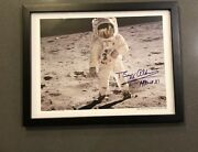 Buzz Aldrin Apollo Xi Surface Of The Moon Photo Signed Limited Edition 362/600
