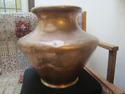 Vintage Very Lg Copper Moroccan Pot. Hand Hammered.1950's