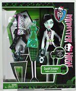 Monster High Collection_i Love Fashion Series_scarah Screams 9 Fashion Doll_mip