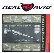 Real Avid 1911 Smart Mat - 19x16 Gun Cleaning Mat W/ Magnetic Parts Tray