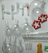 2000 Ml Chemistry Lab Glassware Kit Lab Stand Clamps 24/40