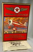 Wings Of Texaco 1930 Travel Air Model R Mystery Ship 5th In Series New Vintage