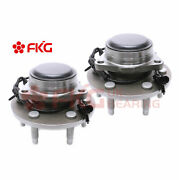 2wd Set Of 2 Front Wheel Hub Bearing Assembly For Chevy Gmc Pickup Truck 515054