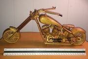 Prison Sculpture Art Motorcycle Mansfield Oh Folk Inmate Artist One Of A Kind
