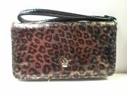 New Large Fold Over Wristlet Wallet And Universal Cell Phone Case Iphone Lg Att