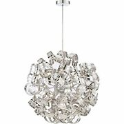 Quoizel Rbn2831crc 12-light Ribbons Foyer Piece In Crc - Crystal Chrome