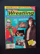 New Wave Wrestling Magazine January 1994 Undertaker Cover Poster Inside Wow 504